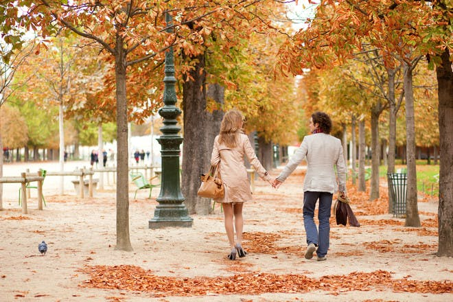 Enjoy a romantic stroll