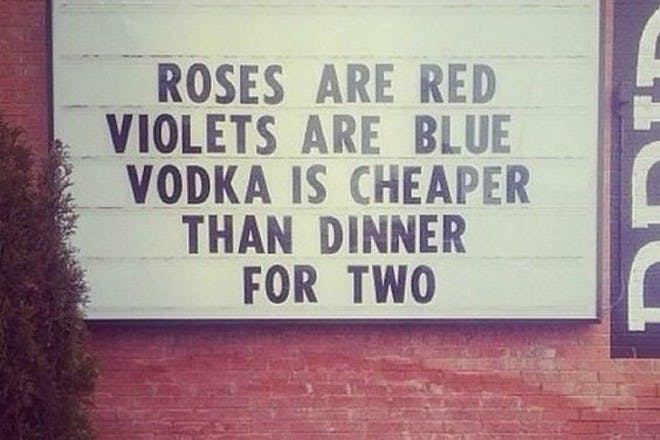 'Roses are red' poem