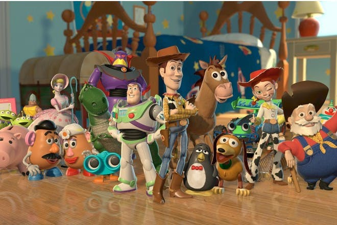 Toy Story-inspired baby names