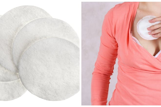 Cotton wool pads / breast pads