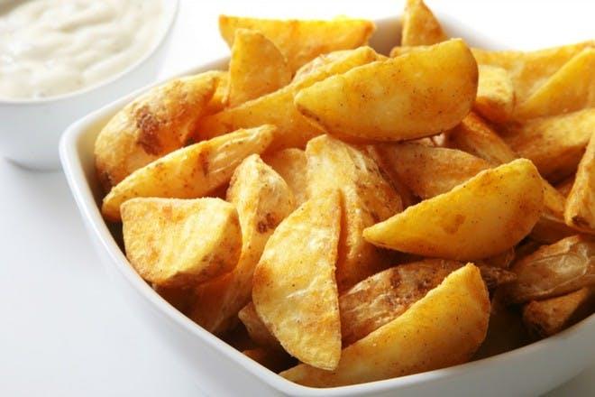 16. Potato wedges