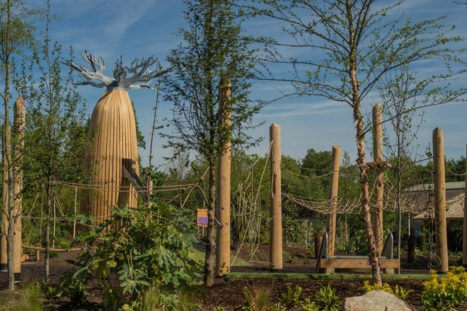 Northern England and Yorkshire: Madagascar PLAY! space at Chester Zoo
