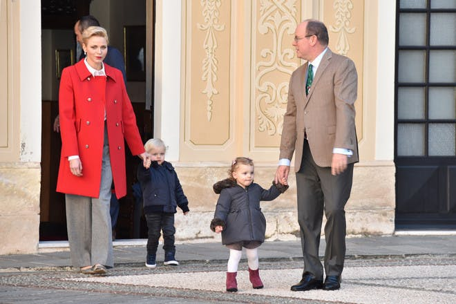 Prince Jacques and Princess Gabriella of Monaco