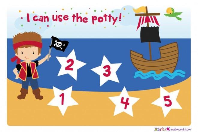 Potty training - pirates