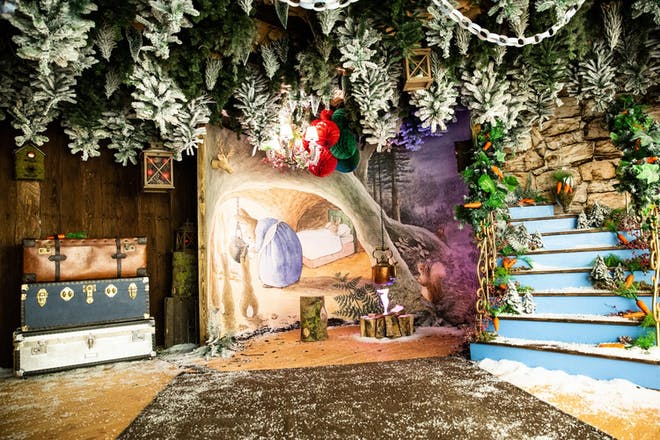 Santa's Grotto with Peter Rabbit and Friends
