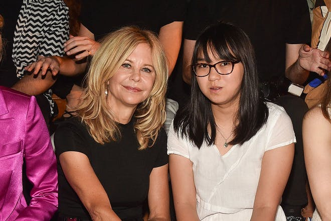 Meg Ryan and daughter