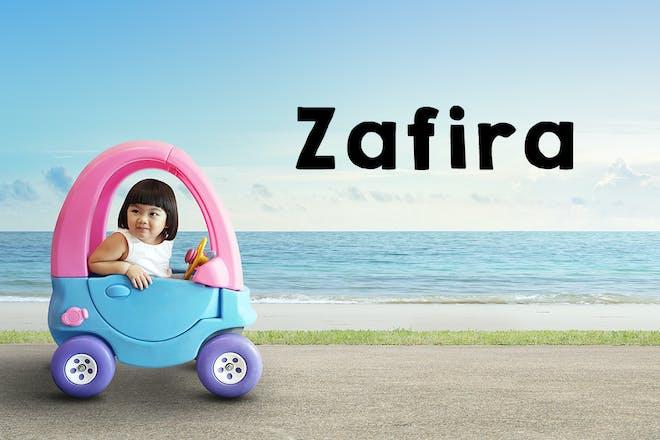 Zafira baby name