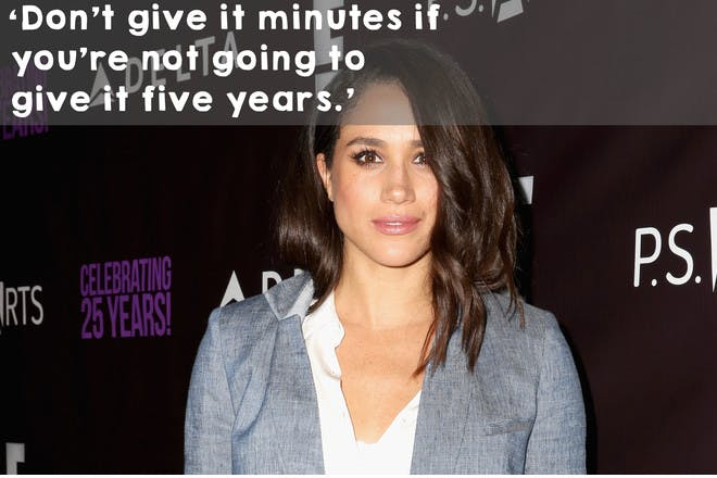 'Don't give it minutes if you're not going to give it five years.'