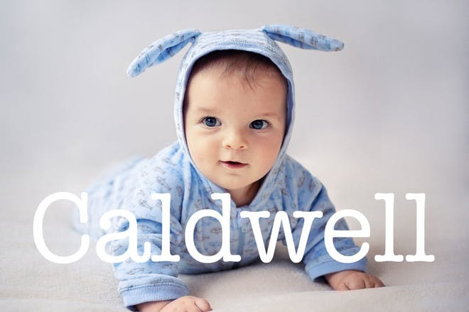 Caldwell - Easter baby names