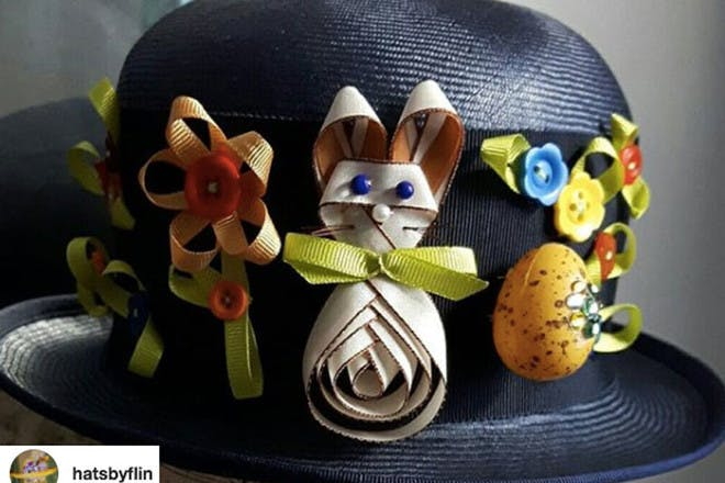 Easter bowler hat
