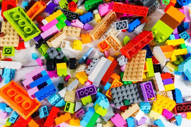 38. Have a Lego building contest