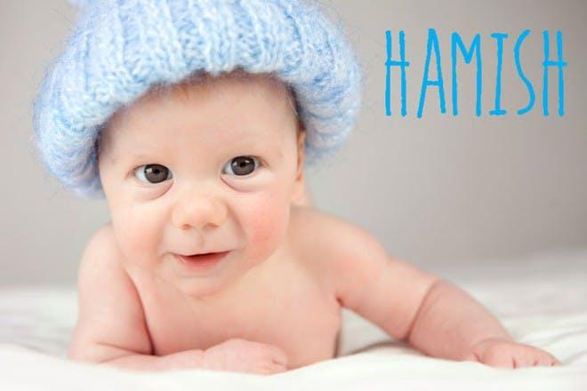 baby in blue beanie
