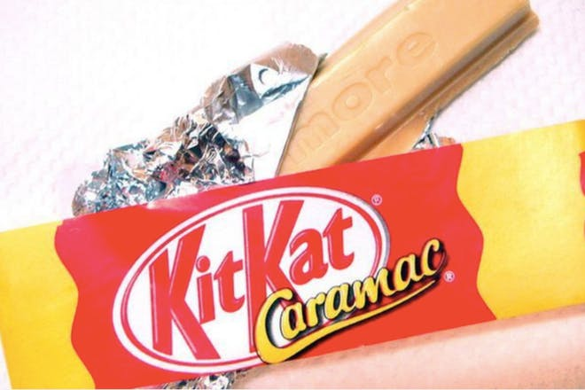 KitKat Caramac