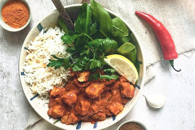 Quorn masala curry