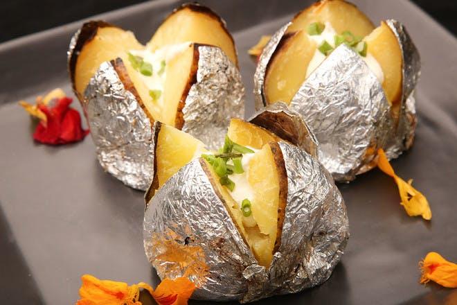 17. BBQ jacket potatoes