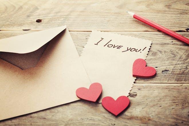 3. Make a love note treasure hunt