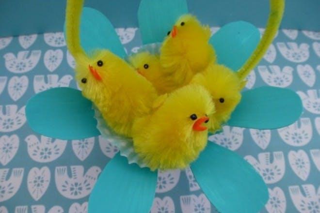 Easter treat baskets