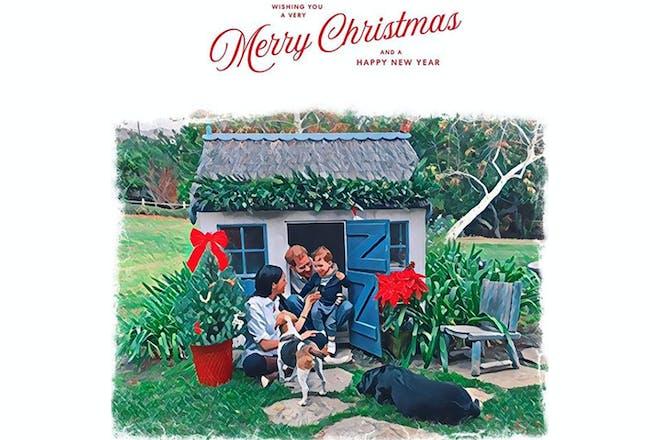 Harry and Meghan Christmas card