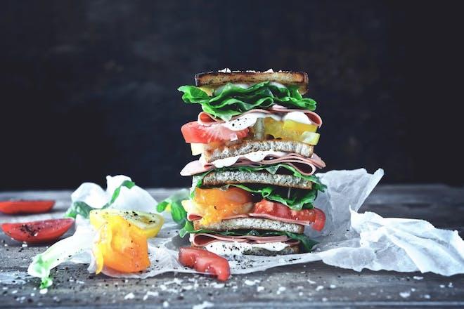 Quorn VLT sandwich