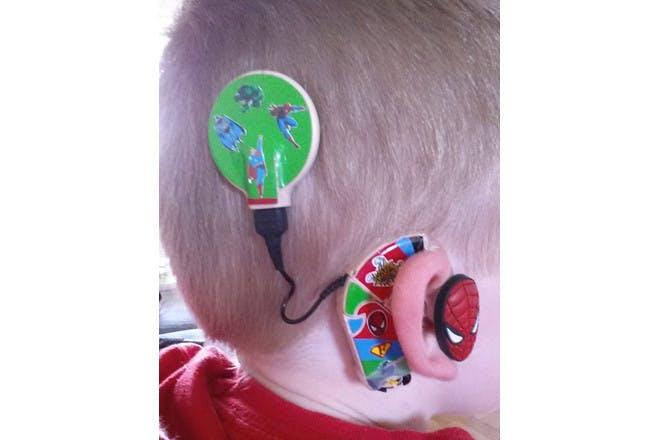 spiderman hearing aid