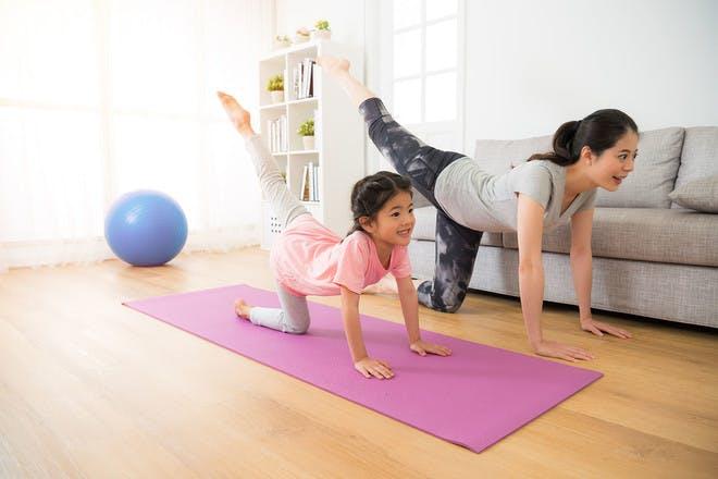 21. Kids yoga