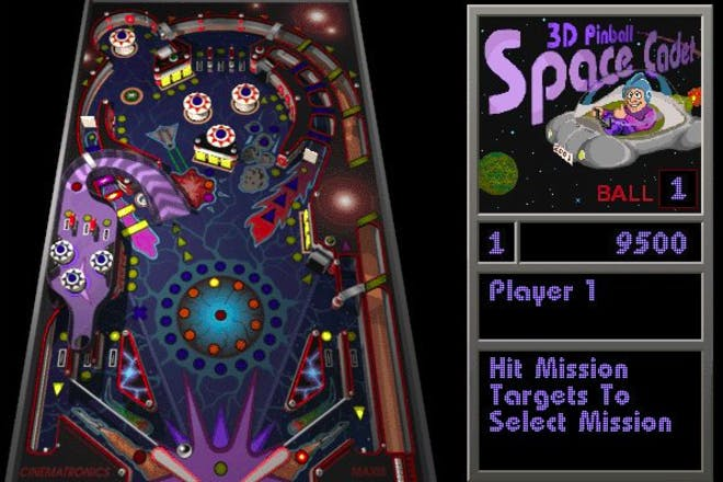 27. Playing THIS pinball game when the internet wouldn't work
