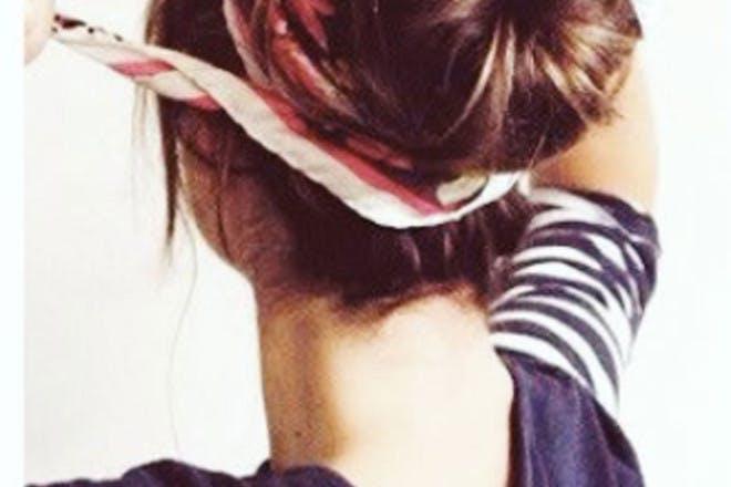Headband bun