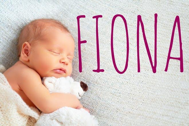 Fiona Scottish baby name