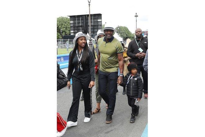 Idris Elba and his children