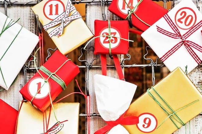 parcel advent calendar
