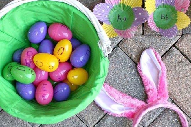 Easter letter game