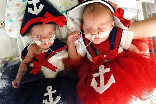 two baby sailors