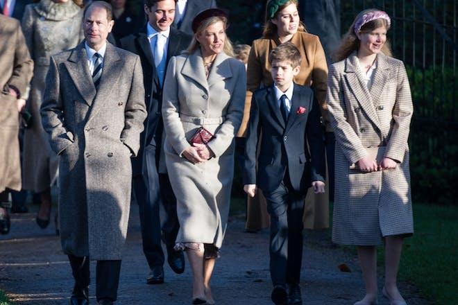 8. Prince Edward's family