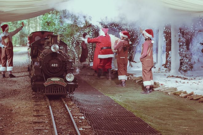 Christmas Special at Audley End Miniature Railway