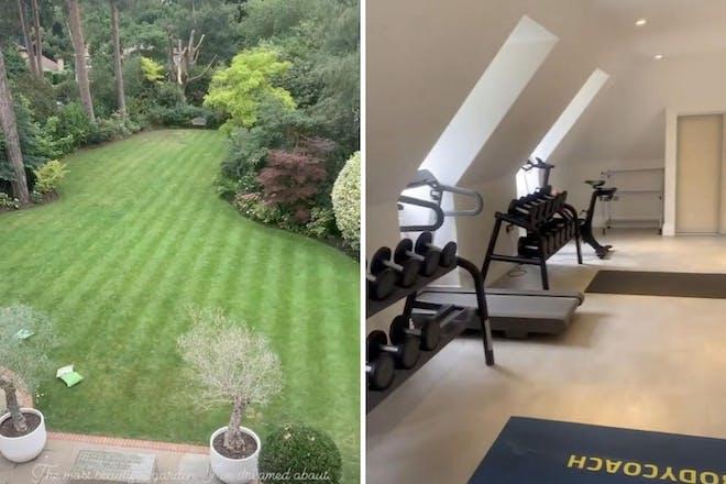 Joe Wicks' new garden and home gym
