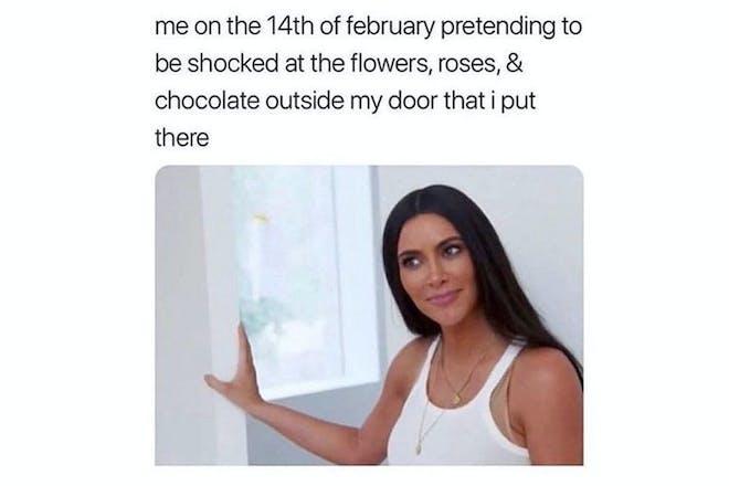Valentine's Day memes - Kim Kardashian