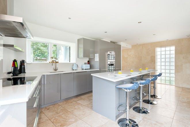 Kitchen at Reid Villa, Lower Mill Estate, Habitat Escapes, The Cotswolds