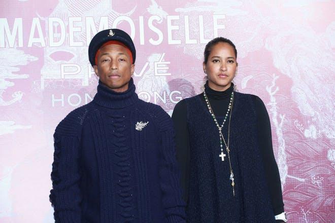 18. Pharrell Williams and Helen Lasichanh