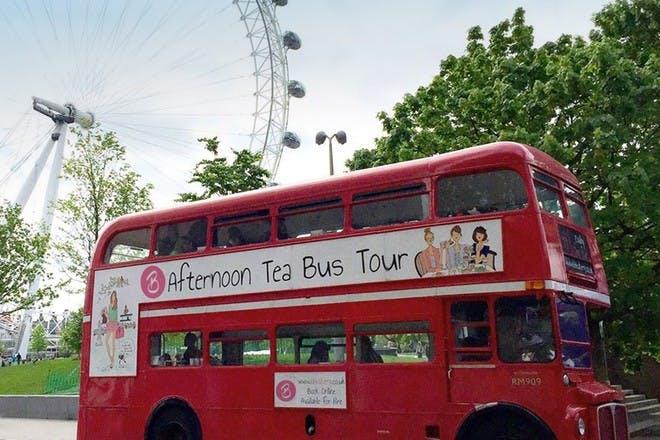 afternoon tea double decker bus