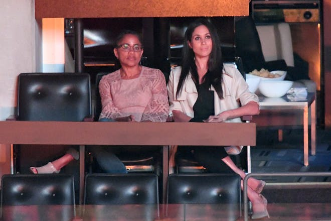 Meghan Markle and Doria Ragland Invictus Games 2017
