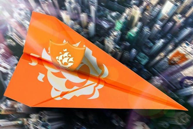 Orange badge