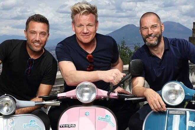 Gordon, Gino and Fred roadtrip