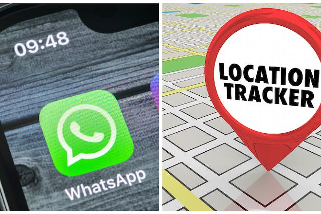 iPhone WhatsApp and location tracker
