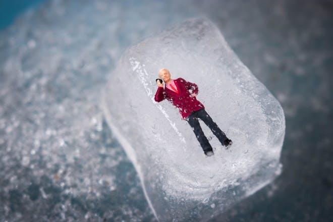 13. Freezing toys