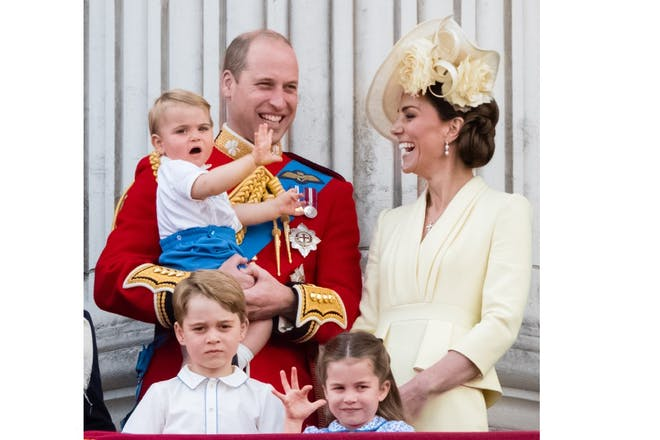 Cambridges Trooping the Colour 2019