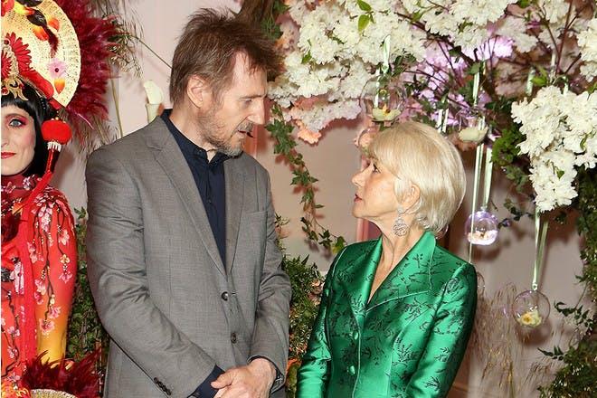 Liam Neeson and Helen Mirren