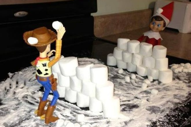 97. Toy Story snowball fight
