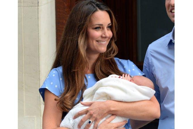 Kate Middleton- George's birth