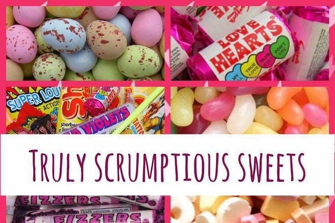 Truly Scrumptious Retro Sweet Shop, Saltash