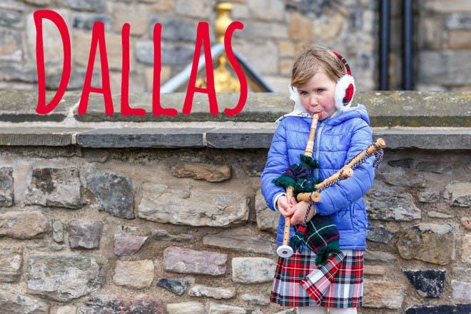 Dallas Scottish name